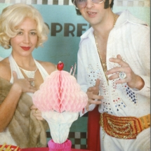 Marilyn et Elvis